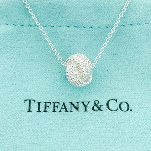 Tiffany & Co. | Twist Knot Pendant Sterling Silver
